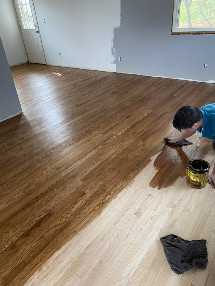 Tony Tran Hardwood Floors: 4572 Oakland Blvd NW, Roanoke, VA
