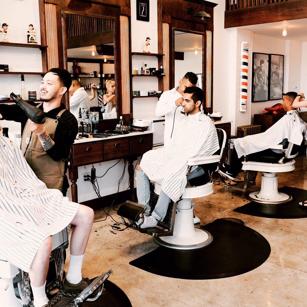 Blades Co Barber Shop: 13 Columbus Ave, San Francisco, CA