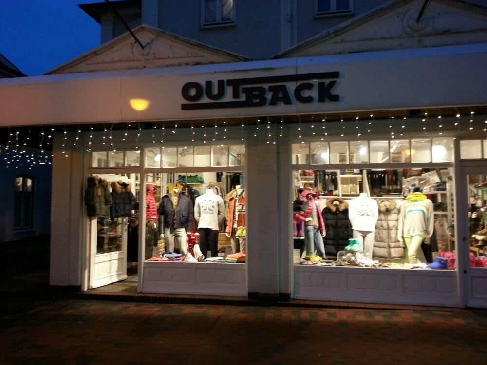 Outback Sportswear Damenmode Strandstr 19 Westerland Sylt