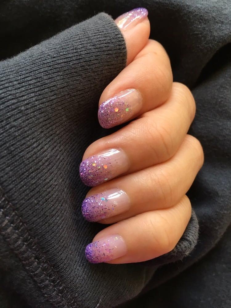 Oh please ignore my hand, I\'m no hand model! Gel nail polish mani w ...