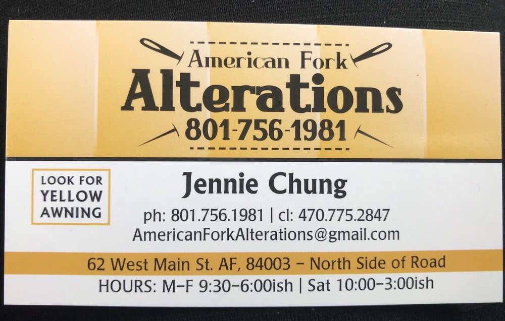 American Fork Alterations: 62 W Main St, American Fork, UT