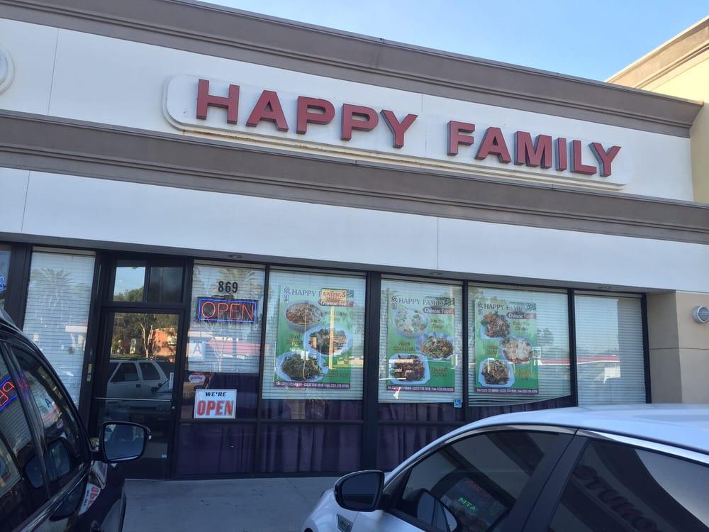 Happy Family Restaurant Montebello Menu