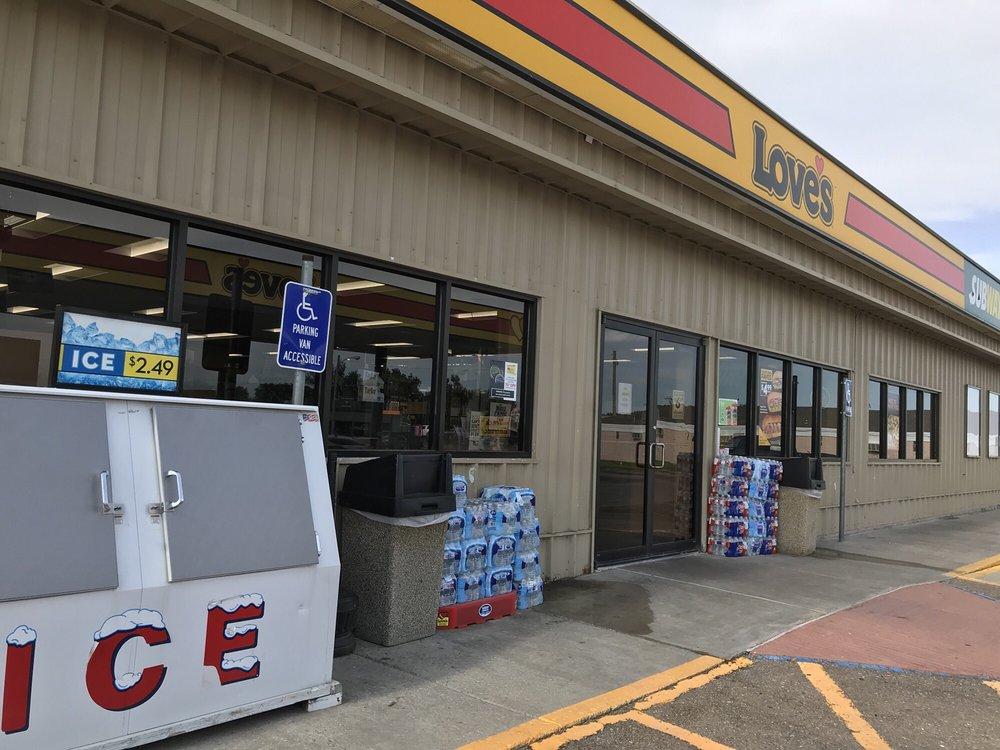 Love's Travel Stop: 1100 E Main St, Boise City, OK