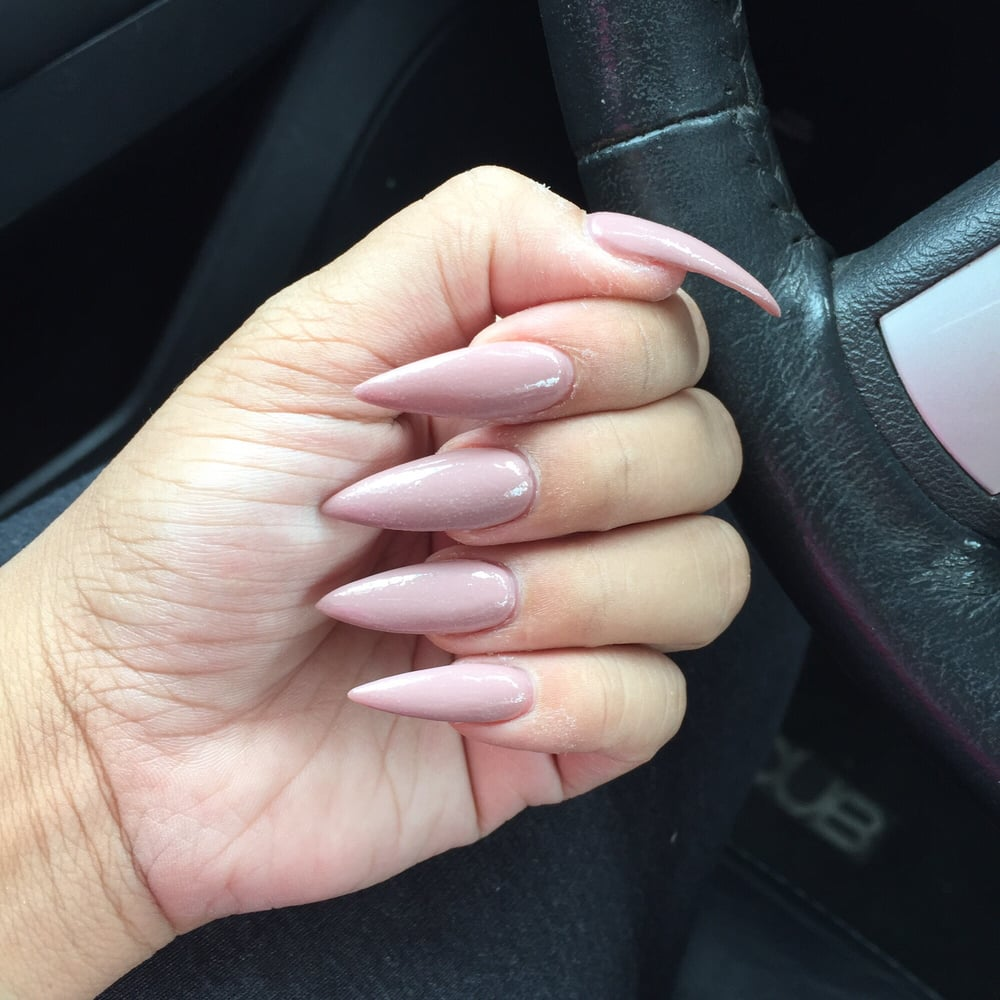 I love my long stiletto nails - Yelp