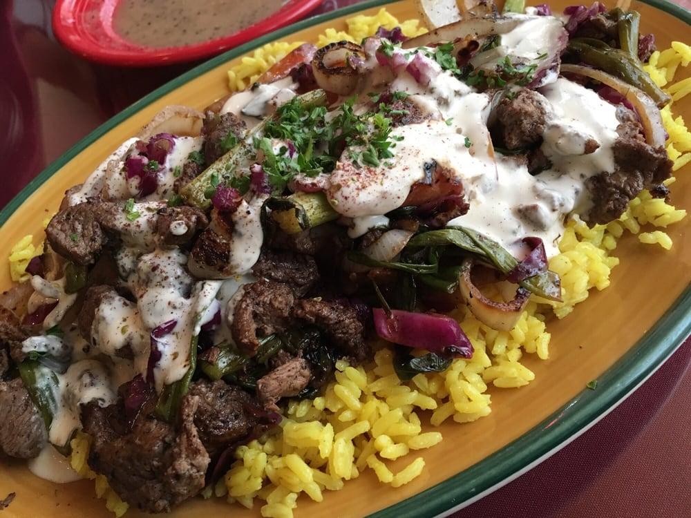 Mediterranean Kitchen Lamb Shawarma.