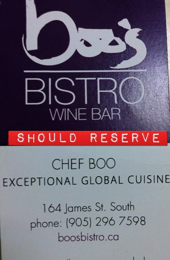 Boo's Bistro and Wine Bar