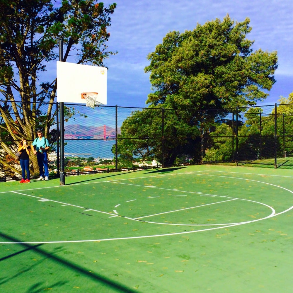 Great Views while Shooting a little Hoop Yelp