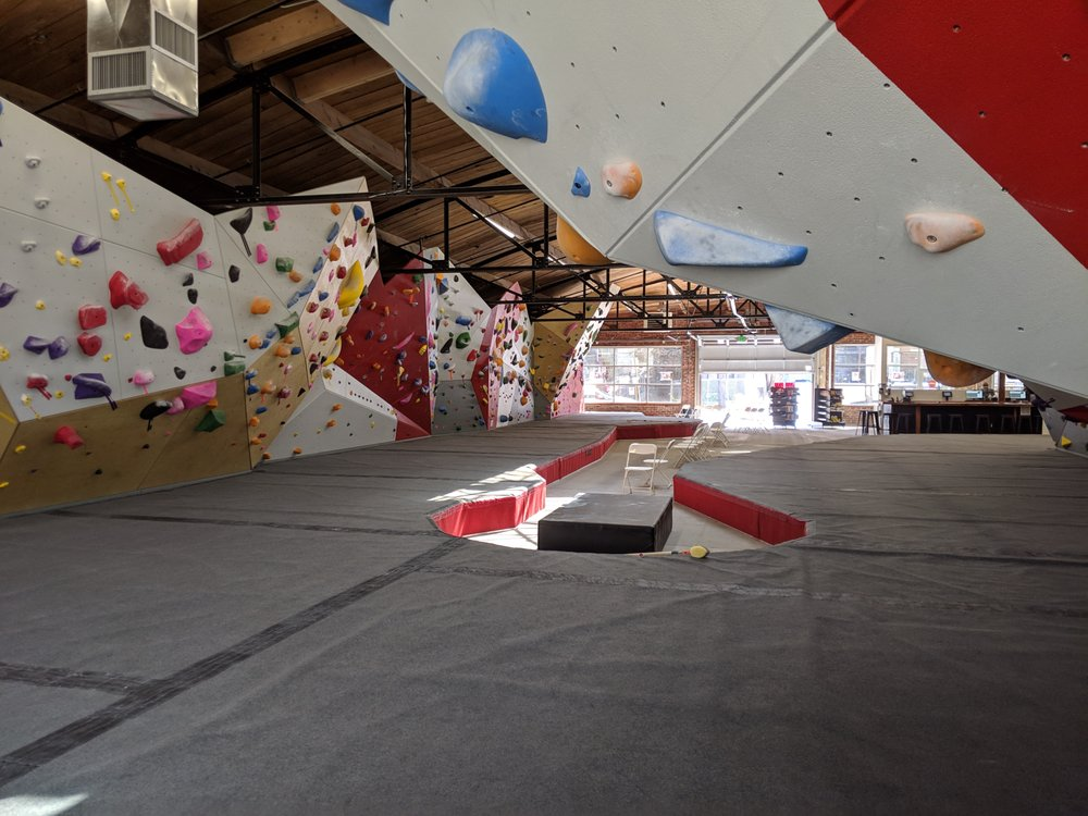 The Spot Bouldering Gym: 1235 Delaware St, Denver, CO