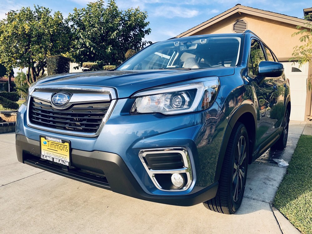 2019 Forester Limited Horizon Blue Yelp