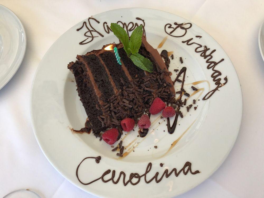 Complimentary Birthday Cake Yelp