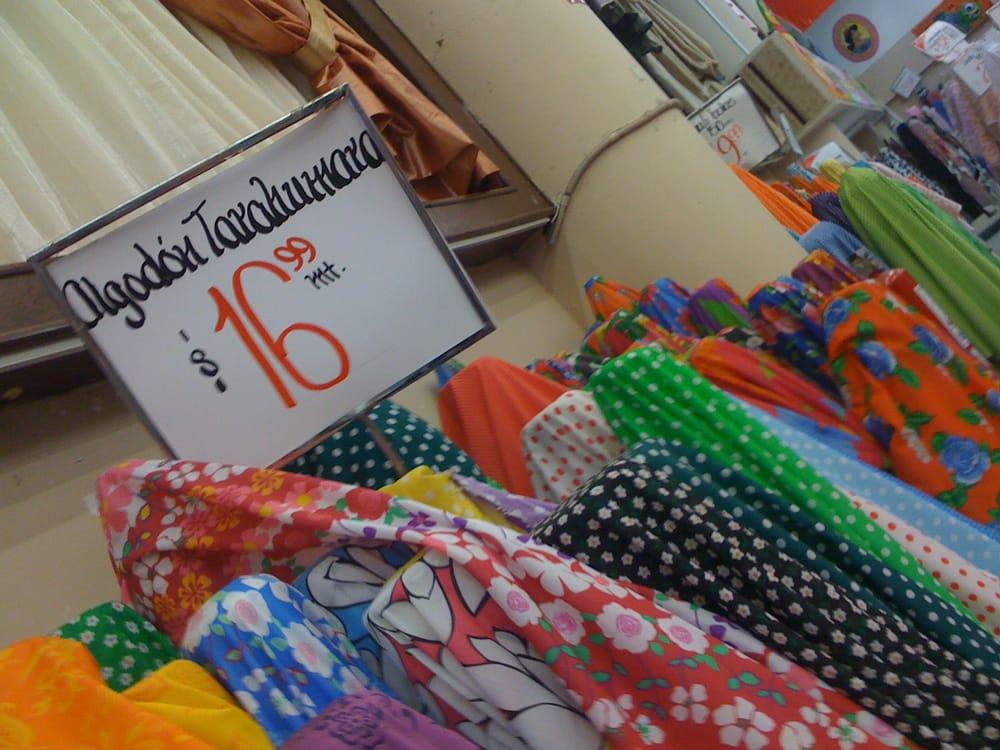 Tela algod n tarahumara yelp for Telas para manteles precios