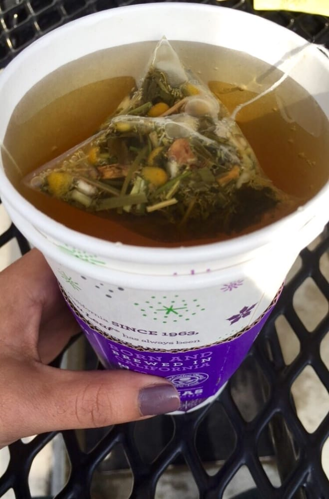 Hot Medicine Ball Tea W 3 Sticks Of Honey Yelp