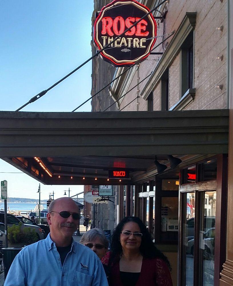 Rose Theatre: 235 Taylor St, Port Townsend, WA