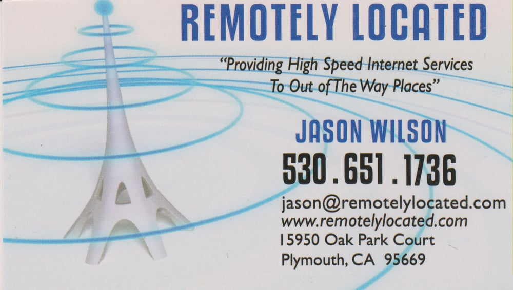 Remotely Located: 15950 Oak Park Ct, Plymouth, CA