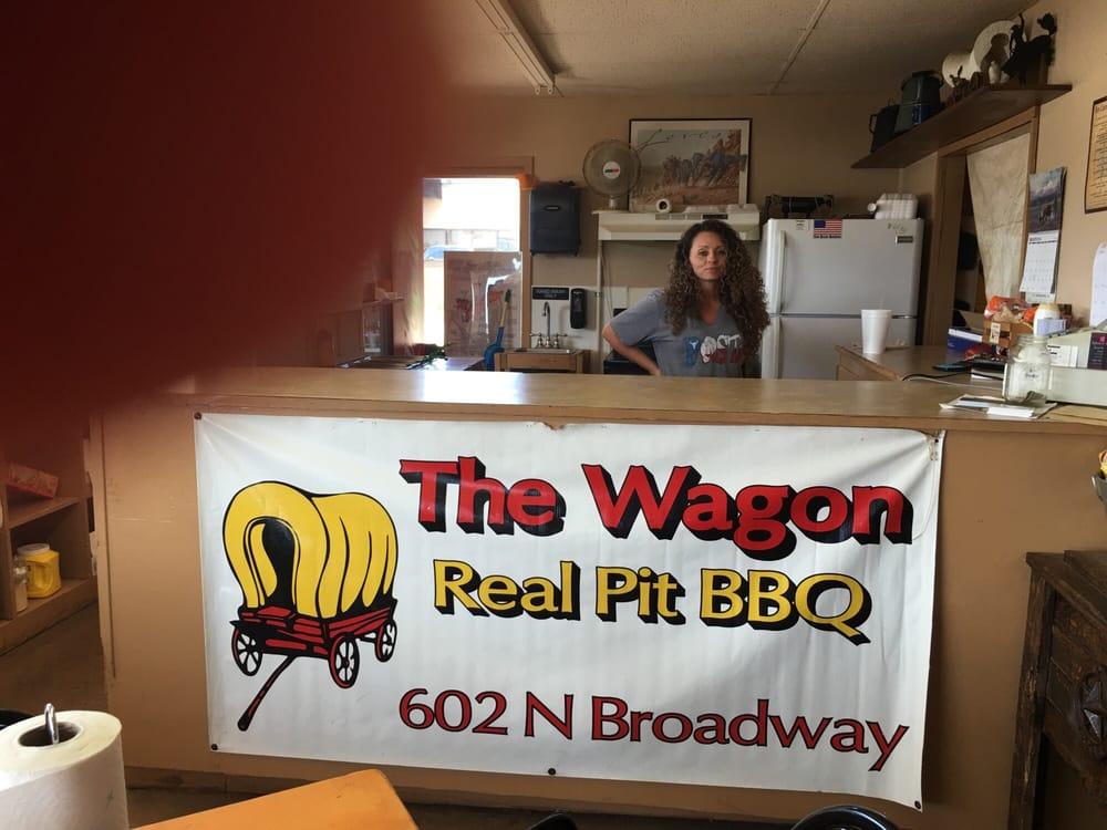 The Wagon BBQ: 602 N Broadway St, Post, TX