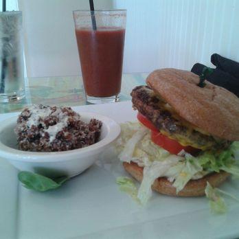 Photo Of Fresh Organic Restaurant Vero Beach Fl United States Veggie Burger