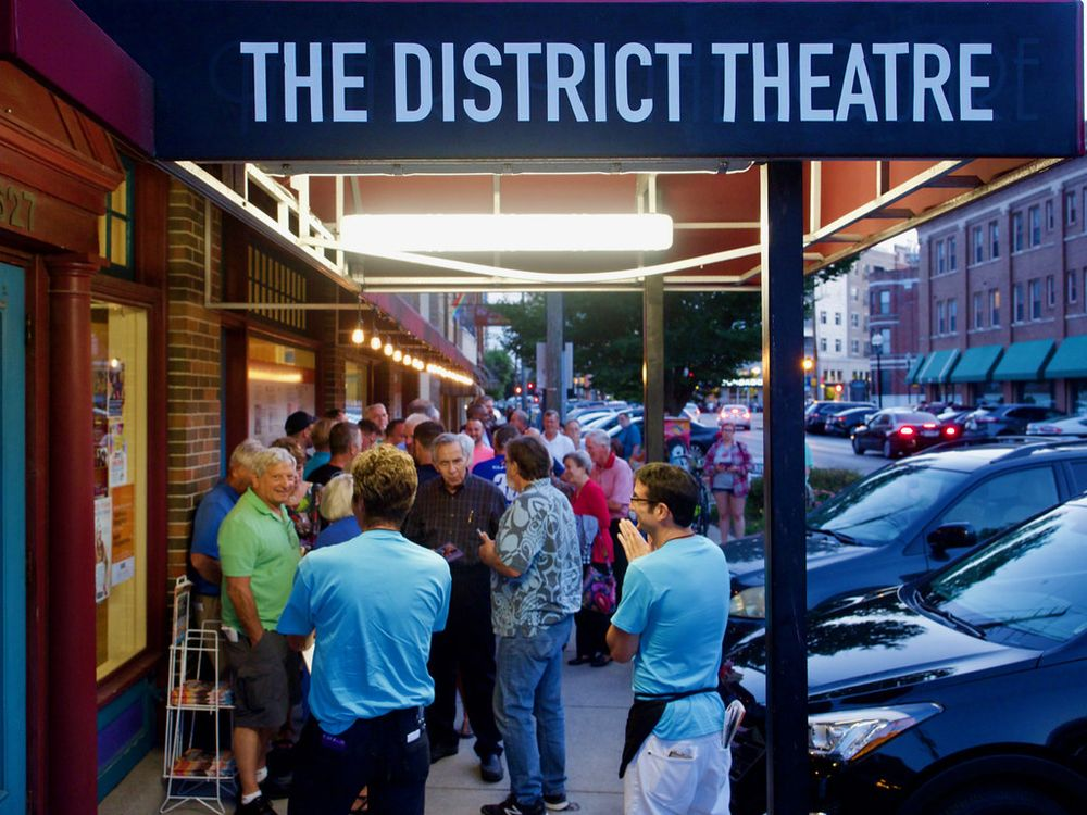 The District Theater: 627 Massachusetts Ave, Indianapolis, IN