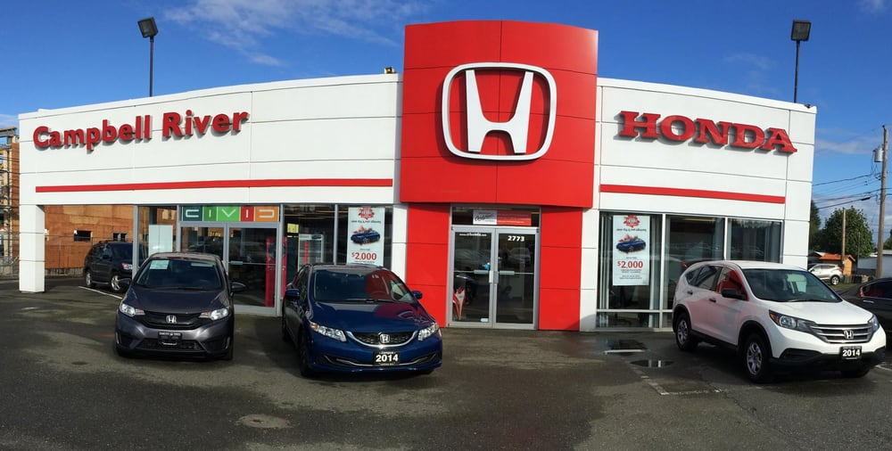Campbell river honda car dealers 2773 island hwy for Honda dealer phone number