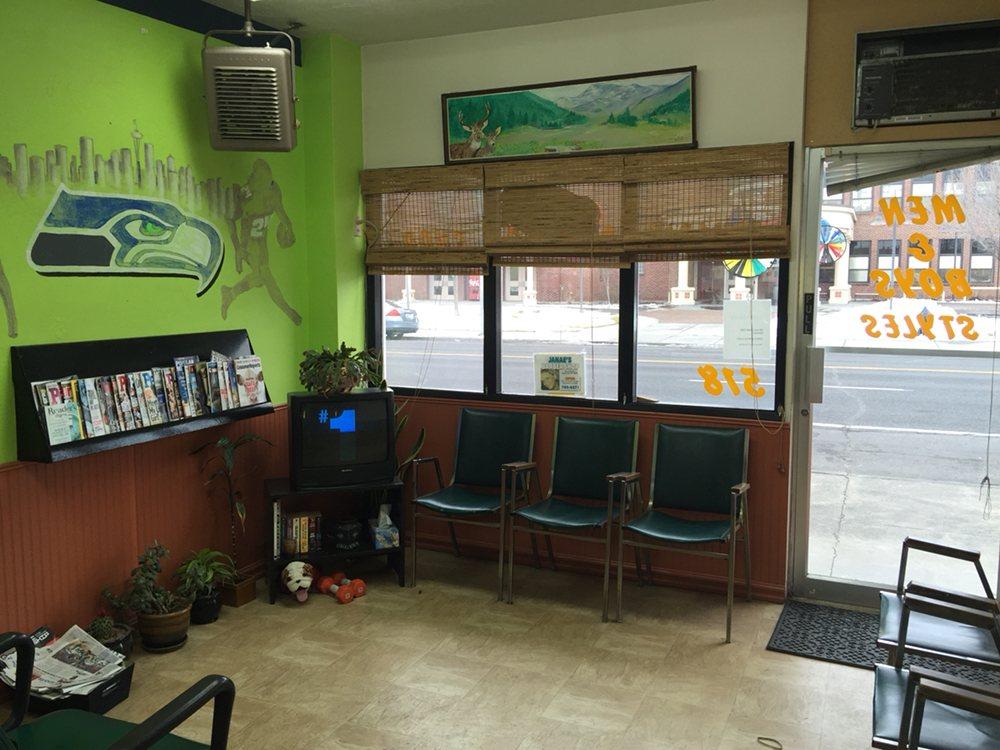 Janae's Barber Shop: 518 W 3rd Ave, Moses Lake, WA