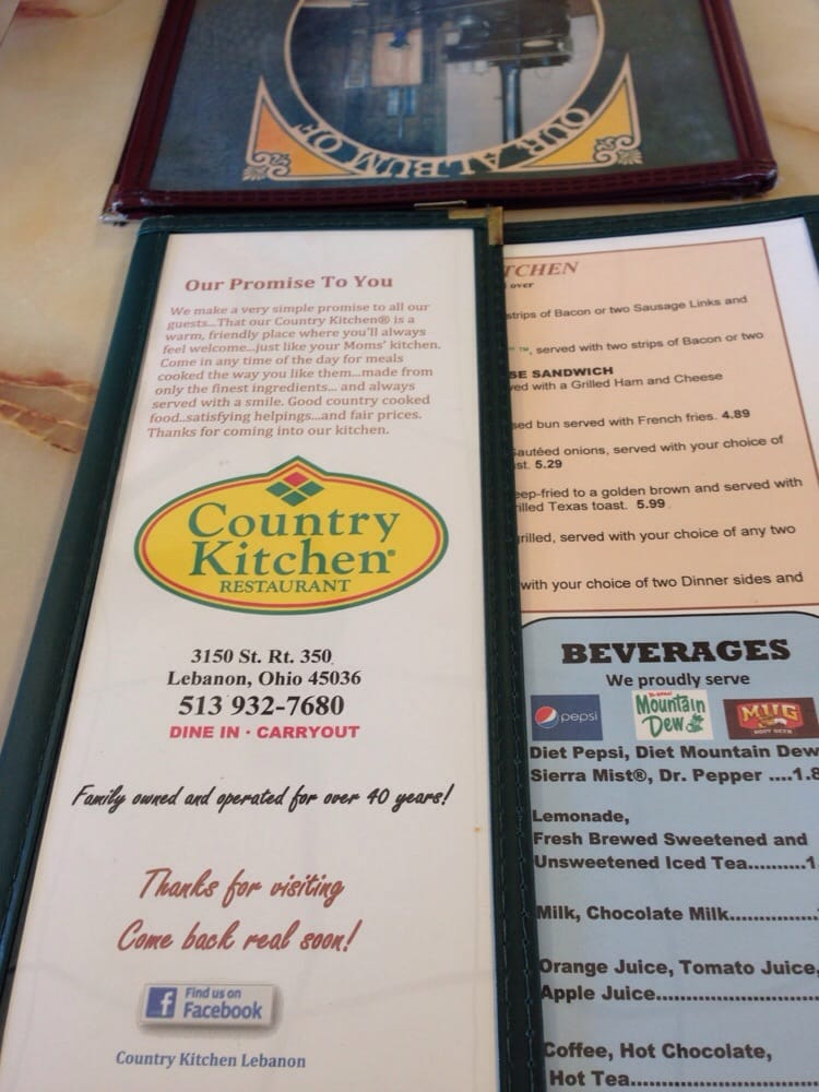 country kitchen lebanon ohio mission statement yelp 6086