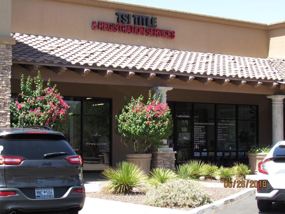 TSI Title & Registration Services: 1900 W Germann Rd, Chandler, AZ