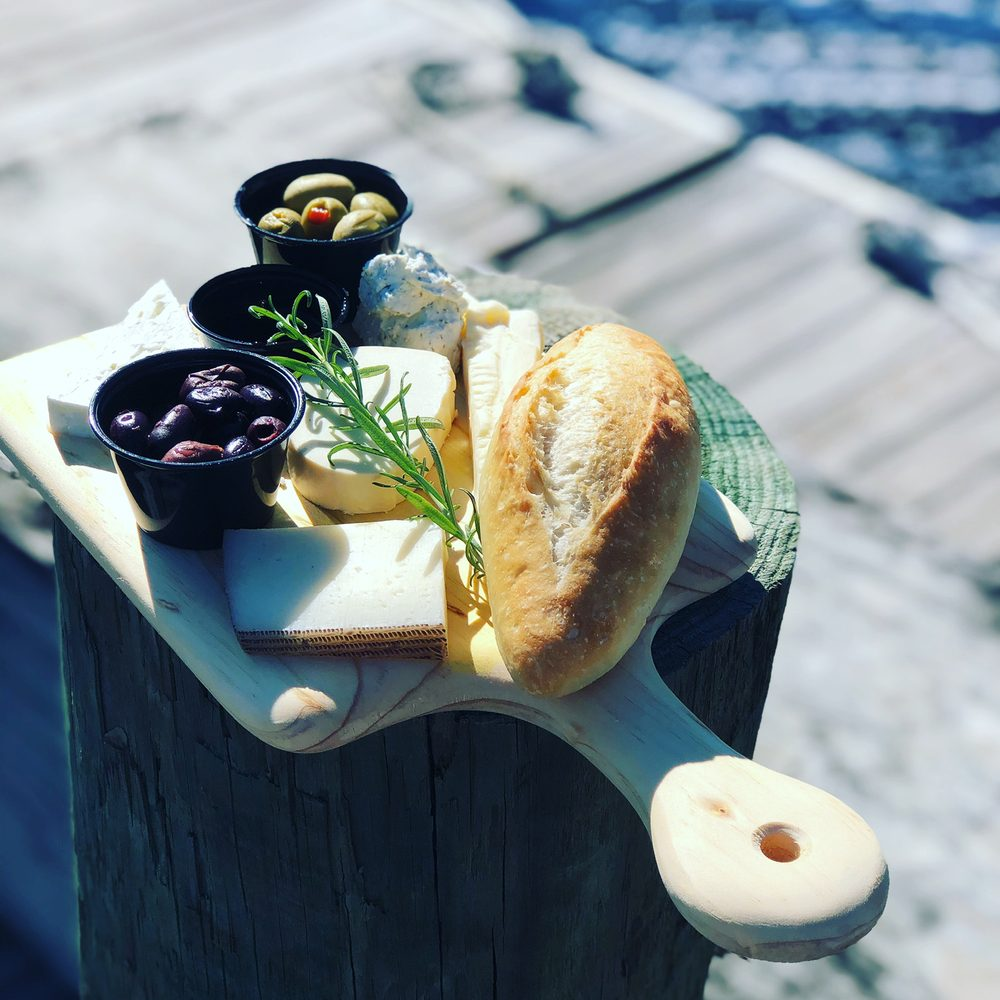Food from The Cheese Board