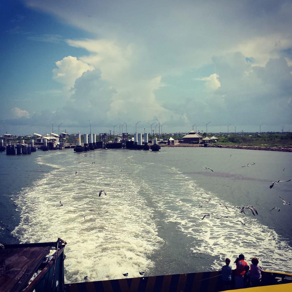 Crystal Beach: Port Bolivar Ferry