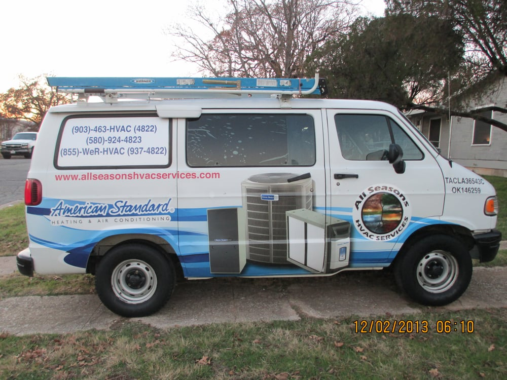 All Seasons Hvac Services: Denison, TX