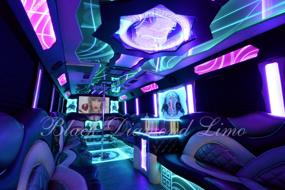 Black Diamond Limo Party Bus OKC