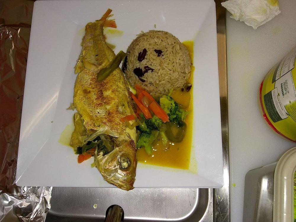 Food from Pauline's Caribbean Soul Cuisine