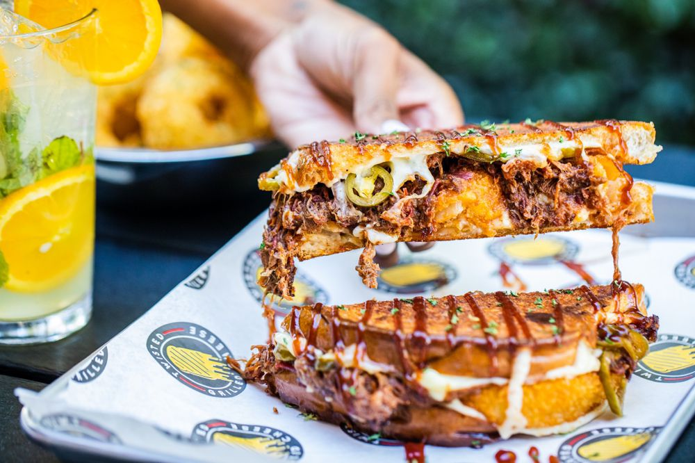 Food from Twisted Grilled Cheese