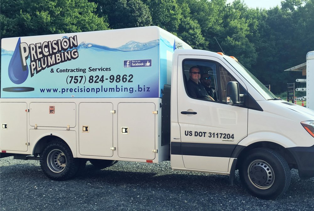 Precision Plumbing & Contracting Services: 10073 Lankford Hwy, Temperanceville, VA