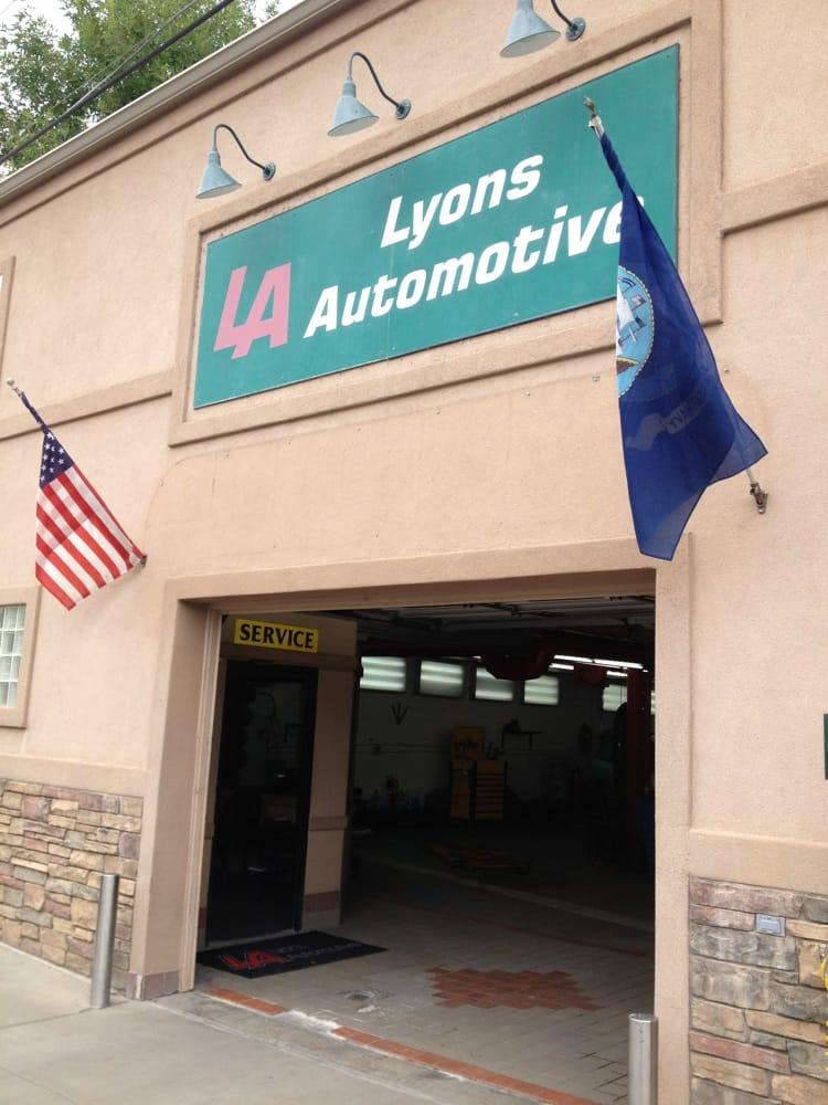 Lyons automotive garages 403 broadway lyons co for Garage auto lyon