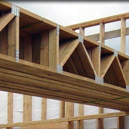 Photo Of Cascade Roof Systems   Christmas Valley, OR, United States. Roof  Trusses