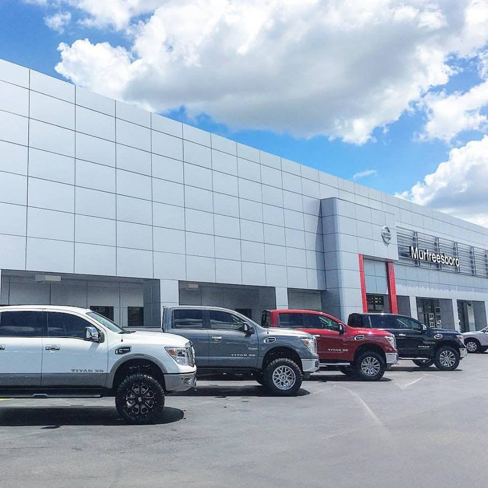Nissan Car Dealerships Near Me: Nissan Of Murfreesboro