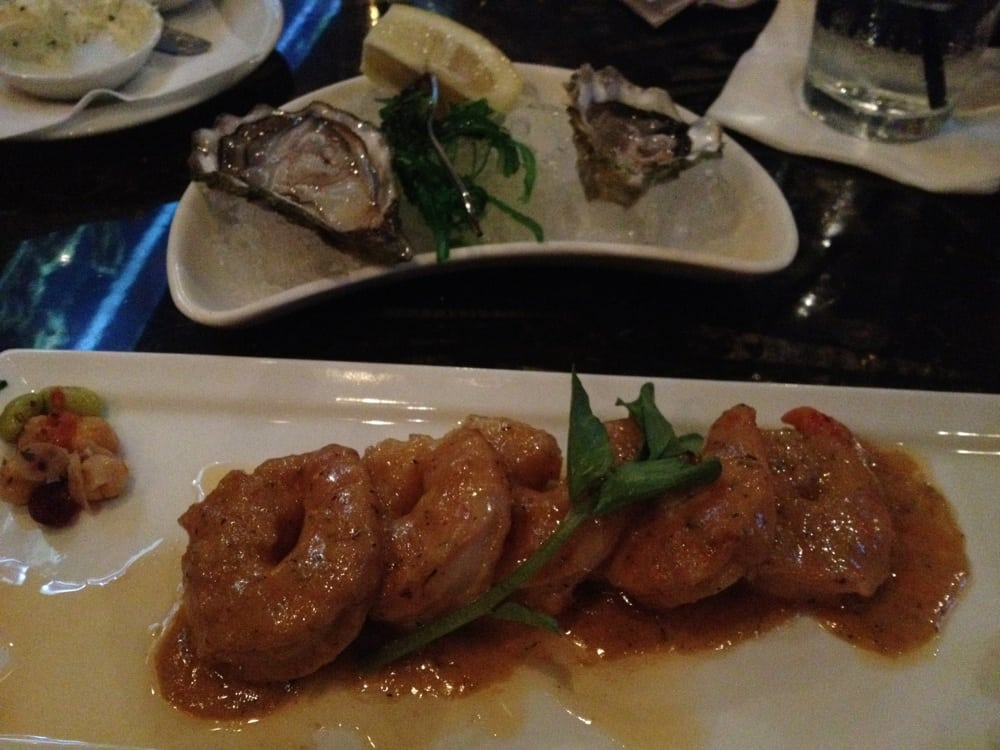 Oysters and shrimp yelp for Mystic fish menu