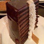 23 Layer Chocolate Cake Menu Michael Jordans Steak House Chicago