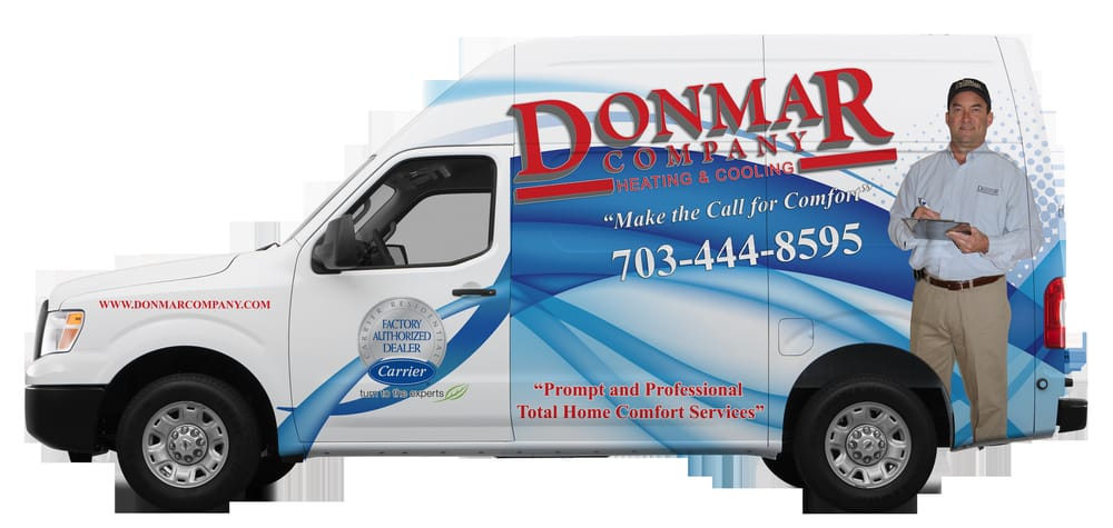 Donmar Company Heating & Cooling: 22821 Silverbrook Center Dr, Sterling, VA