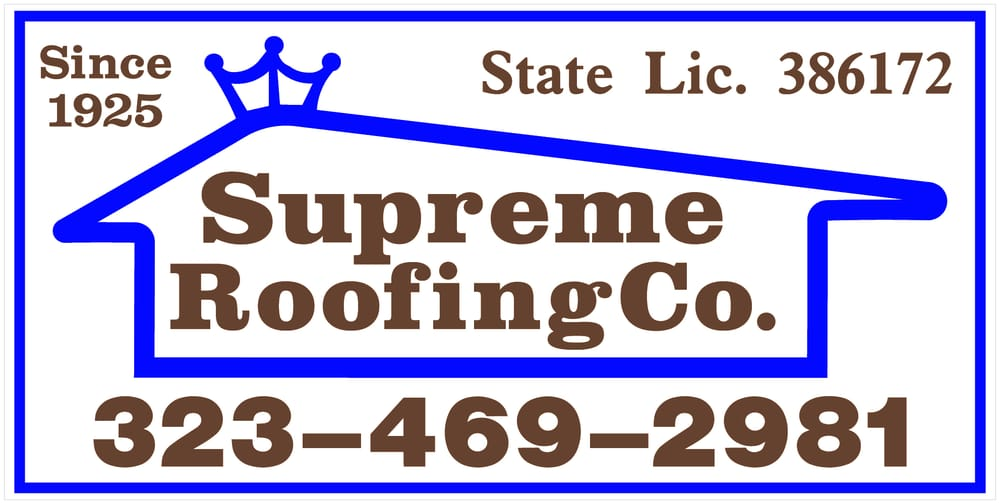 Supreme Roofing   Roofing   1015 N Gower St, Hollywood, Los Angeles, CA    Phone Number   Yelp