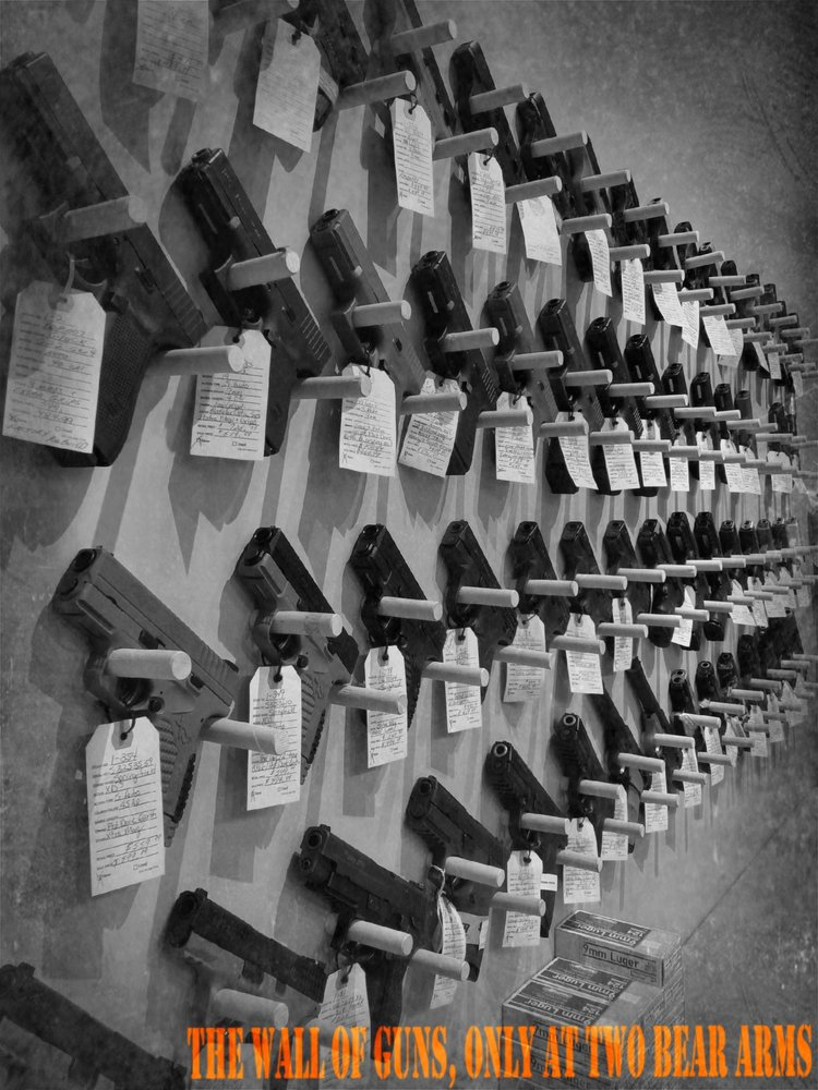 Two Bear Arms Gun Shop & Range: 8414 W 25th S, Etna Green, IN