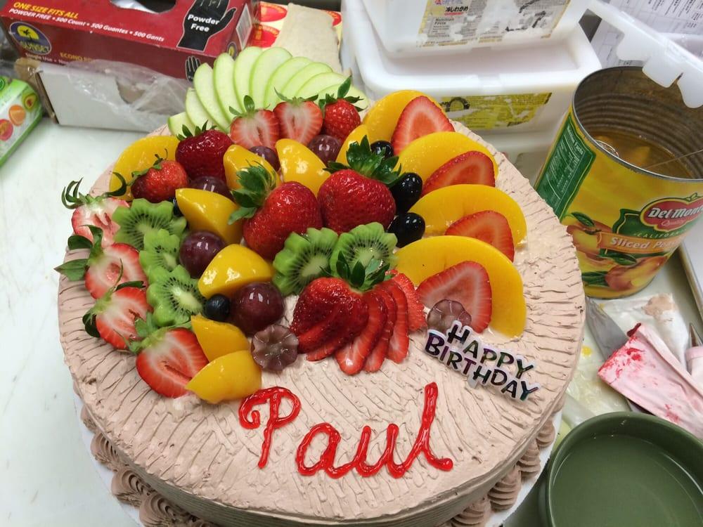 Hong Kong Bakery Birthday Cake Asian Or 3 Milk Cake Yelp