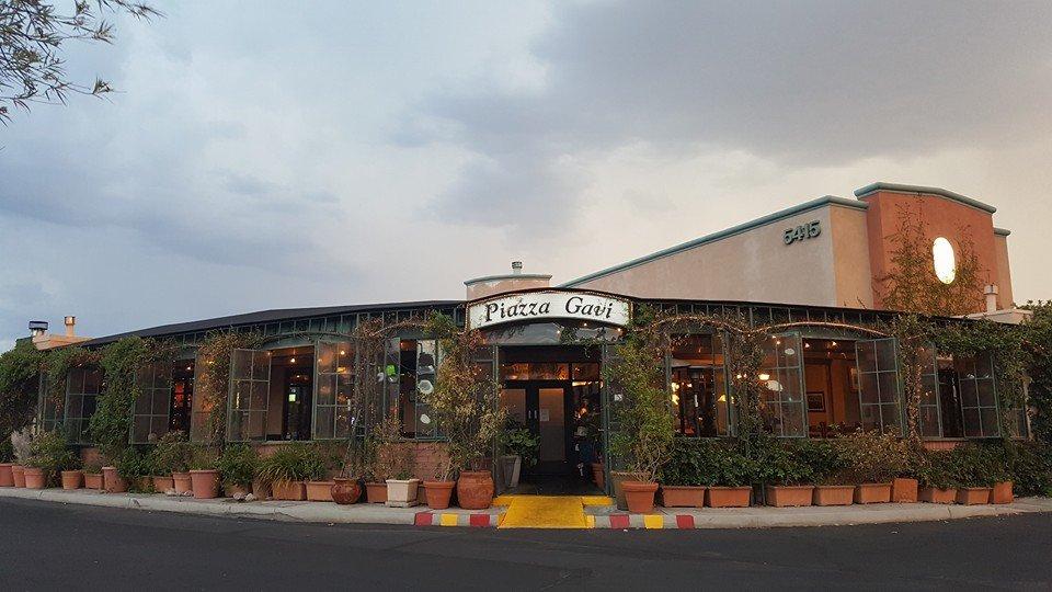 Gavi Italian Restaurant Tucson Az Menu