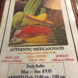 El Mirador 20 Reviews Mexican 1612 W Marland Blvd Hobbs Nm