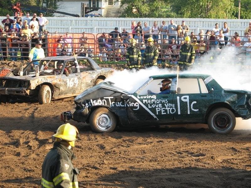 Demolition Derby: Iron River, MI