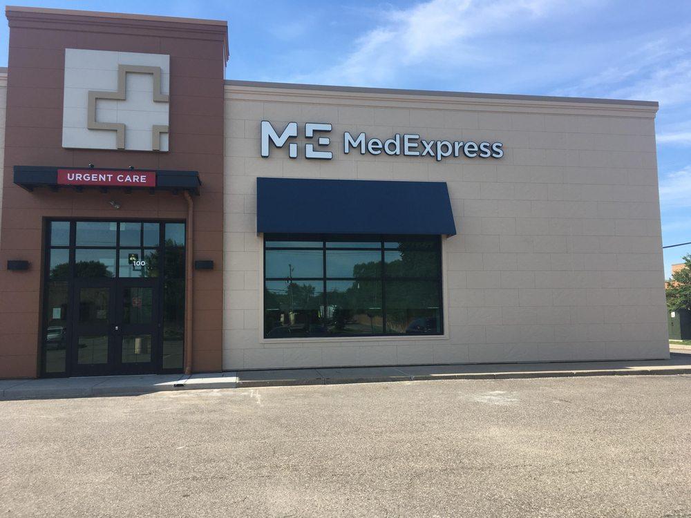 MedExpress Urgent Care: 4880 Central Ave NE, Hilltop, MN