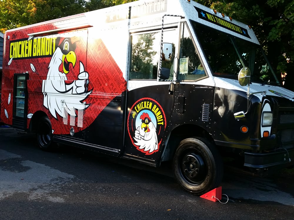 The Chicken Bandit Is A Proud Member Of The Syracuse Food Truck