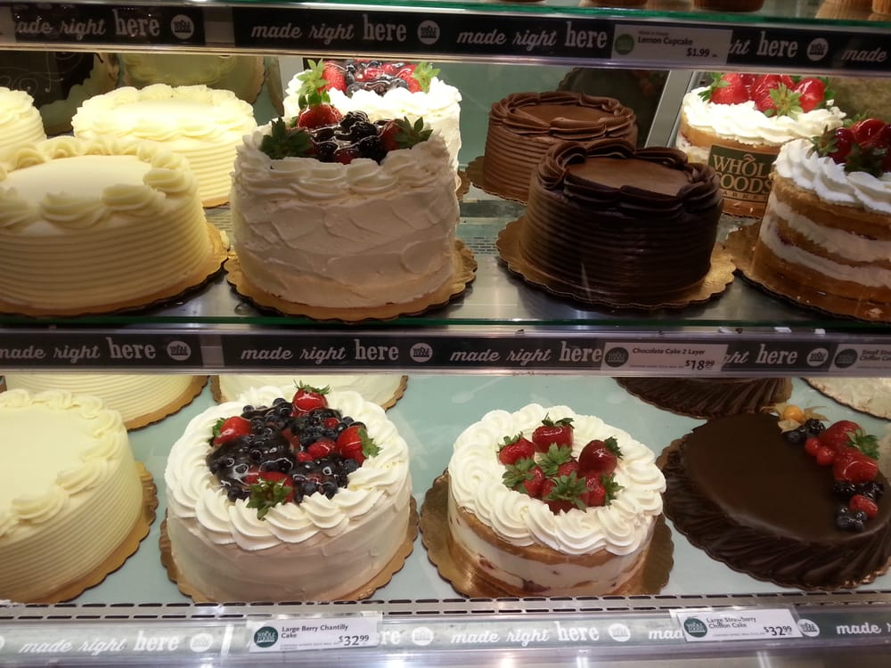 Whole Foods Cake Selection