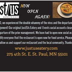 Food from Just/Us Eatery