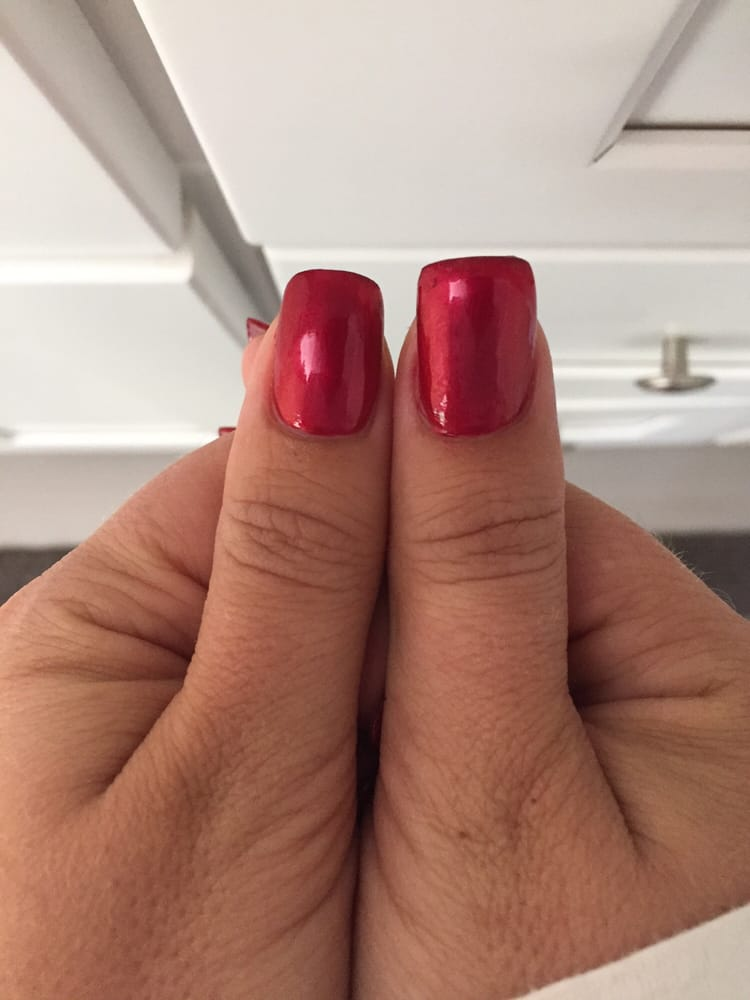 My apparently long nails that need an extra charge... And the vastly ...