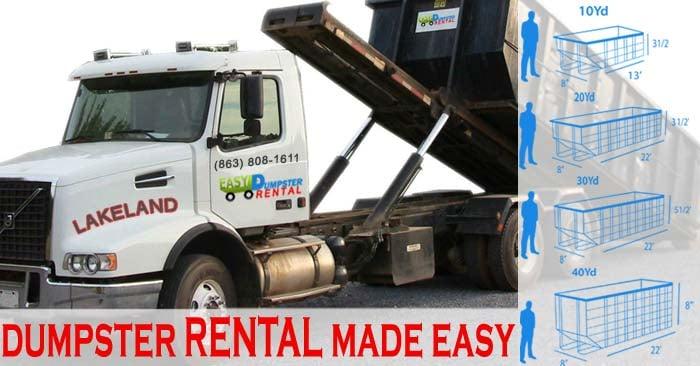 Lakeland Easy Dumpster Rental: 4798 S Florida Ave, Lakeland, FL